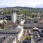 Plauen Hoofdstad van Vogtland