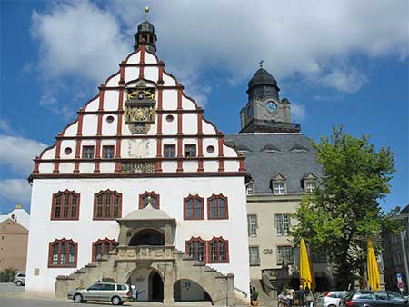 Plauen Oude Stadhuis