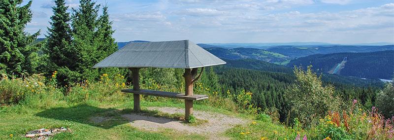 Op de Schneckenstein bij Klingenthal